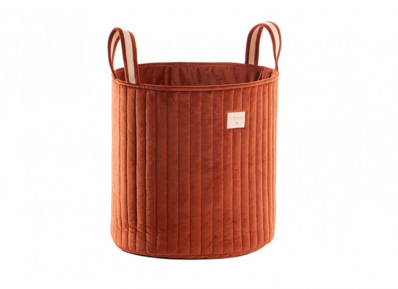 Savanna Velvet Toy Bag / Wild Brown