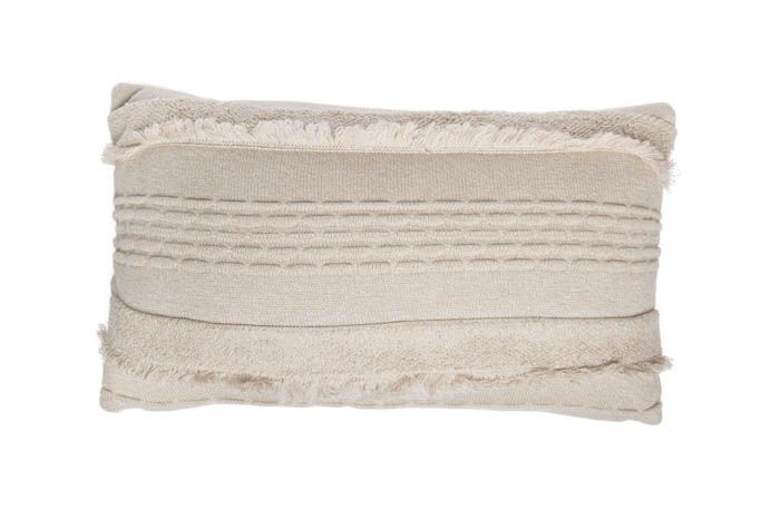 Washable Knitted Cushion Air / Dune White