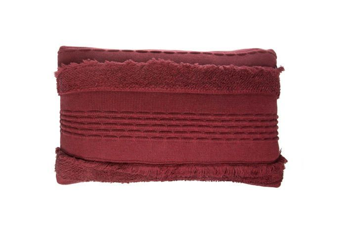 Washable Knitted Cushion Air / Savannah Red