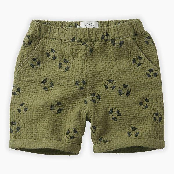 Shorts Print Lifebuoy / Tropical Green