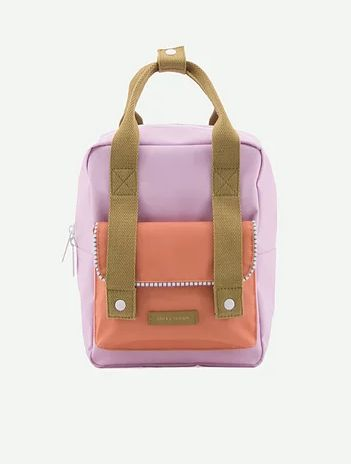 Backpack Envelope Deluxe S / Lila - Orange - Olive