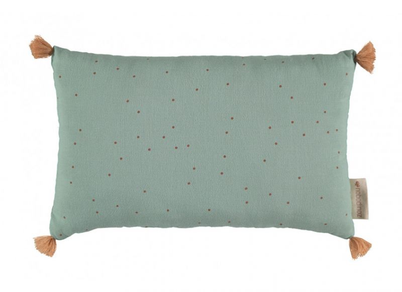 Sublim Cushion / Toffee Sweet Dots - Eden Green