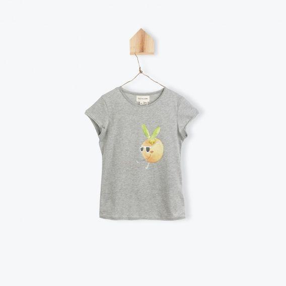 T-shirt Clémentine / Gris Chine