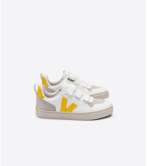 Vegan sneaker V-10 White Tonic
