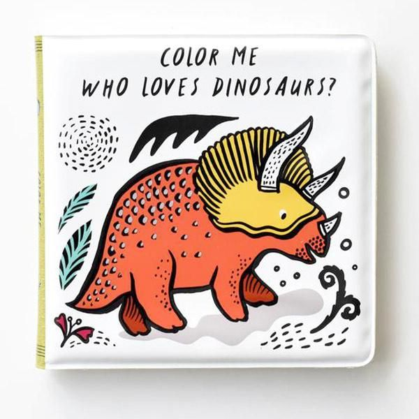 Bath Book / Colour Me Dinosaurs