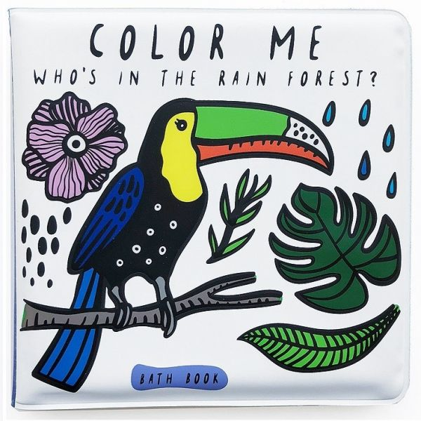 Bath book / Colour me Rainforest