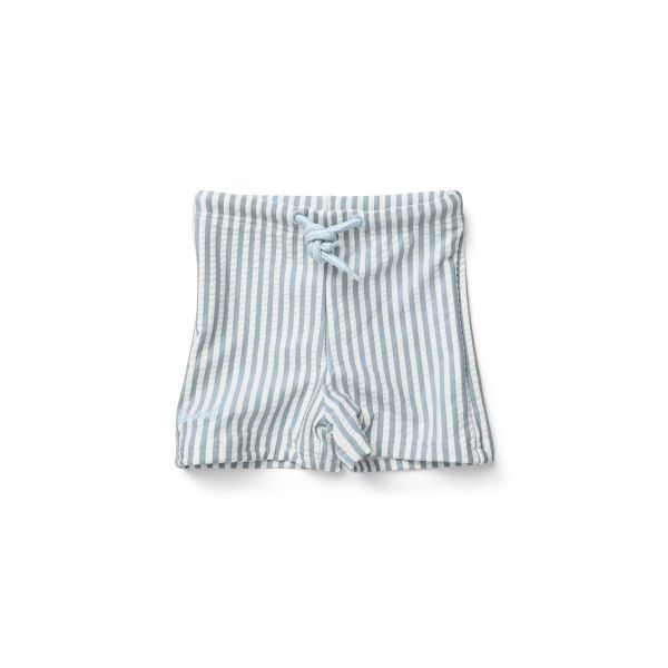 Otto Swim Pants / Stripe Sea Blue White