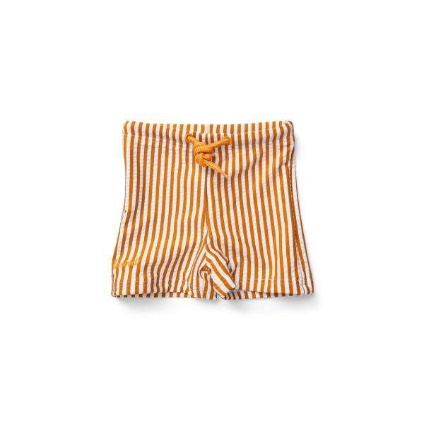Otto Swim Pants / Stripe Mustard White