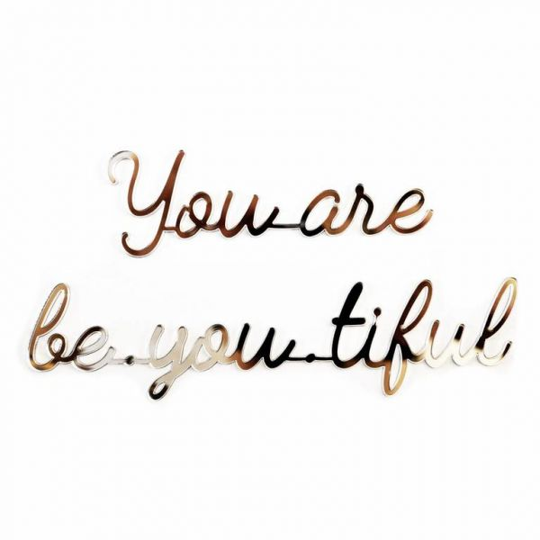 Quote / You Are Be-you-tiful / Gold