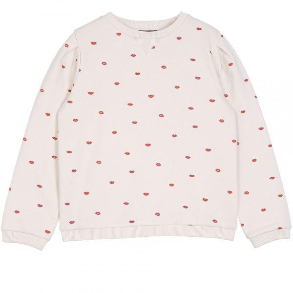 Sweatshirt / Ecru Smack