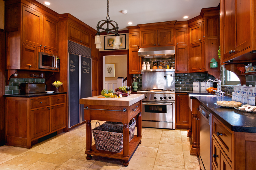 Craftsman Kitchen, Featured in Old House Interiors by Carisa