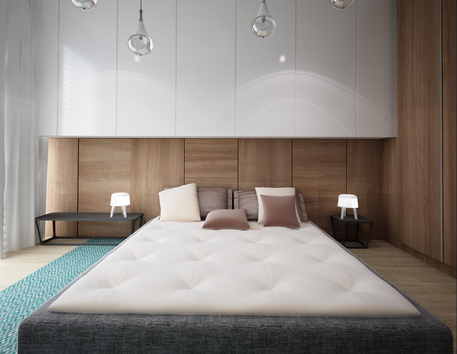 White Scandinavian Bedroom Design Ideas For House