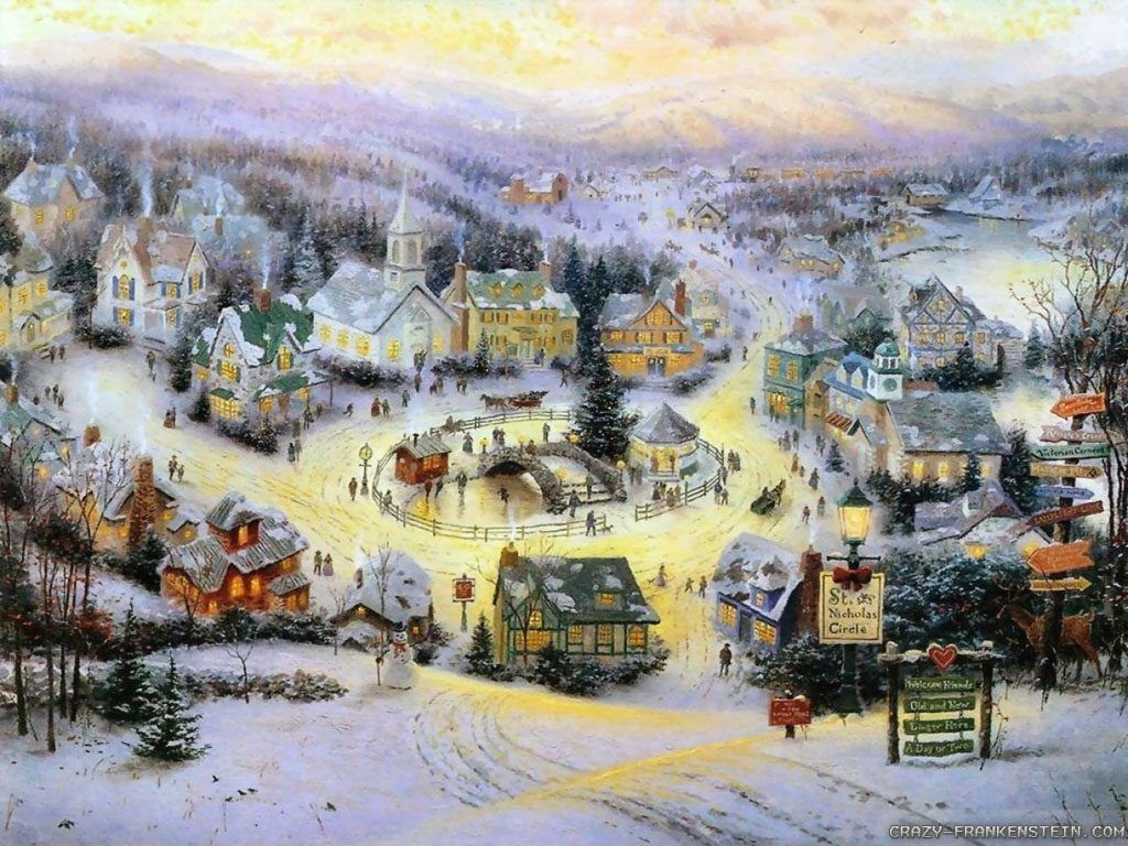 Longing For My Christmas Village