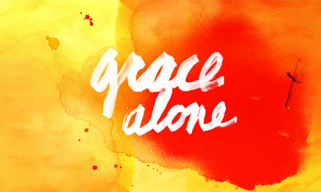 Sola Gratia: Grace Alone for the Weary Student