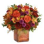 7807 - Golden Amber Bouquet Santa Maria CA delivery.