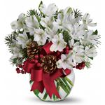 6041 - Let It Snow Santa Maria CA delivery.