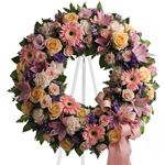 6903 - Graceful Wreath Santa Maria CA delivery.