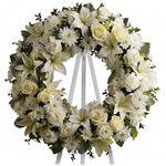 6915 - Serenity Wreath Santa Maria CA delivery.