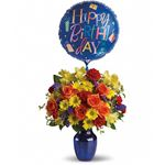 6314 - Fly Away Birthday Bouquet  Santa Maria CA delivery.