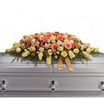 6828 - Warmest Remembrance Casket Spray Santa Maria CA delivery.