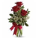 7255 - Thoughts of You Bouquet with Red Roses Santa Maria CA delivery.