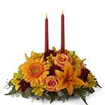 3251 - Bright Autumn Centerpiece Santa Maria CA delivery.