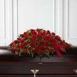 3890 - Dearly Departed Casket Spray Santa Maria CA delivery.