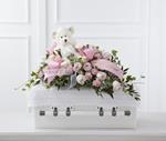 4075 - Touch of Sympathy Casket Spray Santa Maria CA delivery.