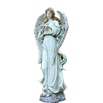996825 - Angel with Bird Santa Maria CA delivery.