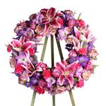 1944 - Vibrant Life Wreath Santa Maria CA delivery.