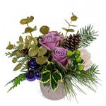 2092 - Amethyst Winter Bouquet - Santa Maria CA delivery.