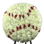 2100 - Baseball Funeral Tribute Santa Maria CA delivery.