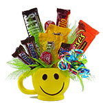 2144 - Happy Face Candy Santa Maria CA delivery.
