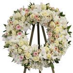 2151 - Hannah Wreath  Santa Maria CA delivery.