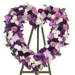 2179 - Purple Passion Heart Santa Maria CA delivery.