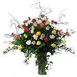2233 - Four Dozen Roses Santa Maria CA delivery.