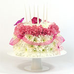 2282 - Pastel Birthday Cake Santa Maria CA delivery.