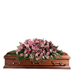 2379 - Blessed Hope Casket Spray Santa Maria CA delivery.