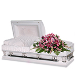 2618 - Pink Grace Casket Spray Santa Maria CA delivery.
