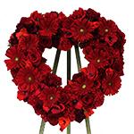 2627 - Crimson Heart Spray Santa Maria CA delivery.