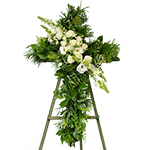 2637 - Verdant Cross with Spray Santa Maria CA delivery.