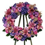 2639 - Garden Wreath Santa Maria CA delivery.