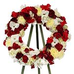 2646 - Santino Wreath Santa Maria CA delivery.