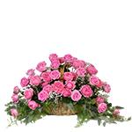 2653 - Basket of Roses Santa Maria CA delivery.