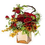 2665 - Talia Cube Bouquet Santa Maria CA delivery.