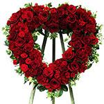 2668 - Everlasting Rememberance Heart Santa Maria CA delivery.