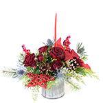 2687 - Miki Christmas Bouquet Santa Maria CA delivery.