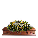 2724 - Sunset Casket Cover Santa Maria CA delivery.