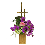 2734 - Keane Orchid Arrangement Santa Maria CA delivery.