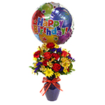 2746 - Fly Away Birthday Bouquet Santa Maria CA delivery.